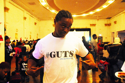 Earl Walker, founder of GUTS (Giving Up The Streets), mentors young Black men.