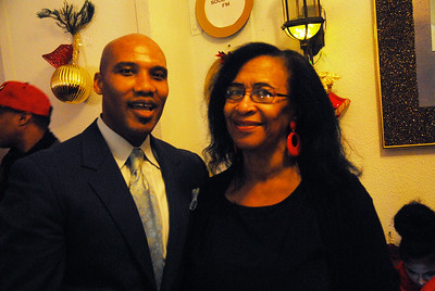 Tyrone Muhammad, an activist and motivational speaker, and Geraldine Smith, of Life Builders United joined efforts with other local organizations to make the event a success and enjoyable for all who attended.