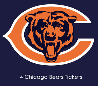 4 tickets to da Bears