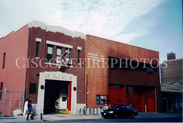 Engine 45 - Ladder 58 - Battalion 18