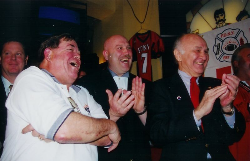 FDNY REUNION at Suspenders 2002 after 9/11
