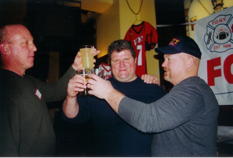 A Toast to Brothers lost 9/11 <br /> ........never forgotten