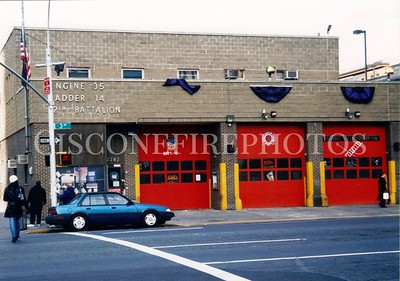 ENGINE 35 / LADDER 14 / BATTALION 12 QUARTERS