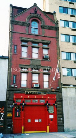 OLD QUARTERS OF LADDER 14