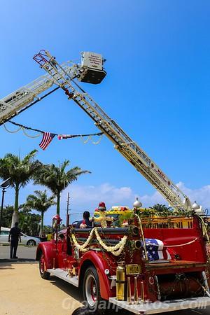 Celebration of life for honorary FDNY FF trucker dukes