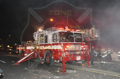 F.D.N.Y. Queens 2nd Alarm 220th St. and Hempstead Ave. 4/30/12
