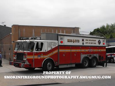 FDNY Rescue Companies
