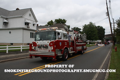 This is a Mocked up truck to resemble Truck Co. 31. This unit to my knowledge did not serve in the FDNY