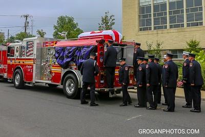 FF George Scheer Funeral