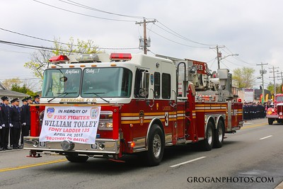 Funeral for FF William Tolley L135
