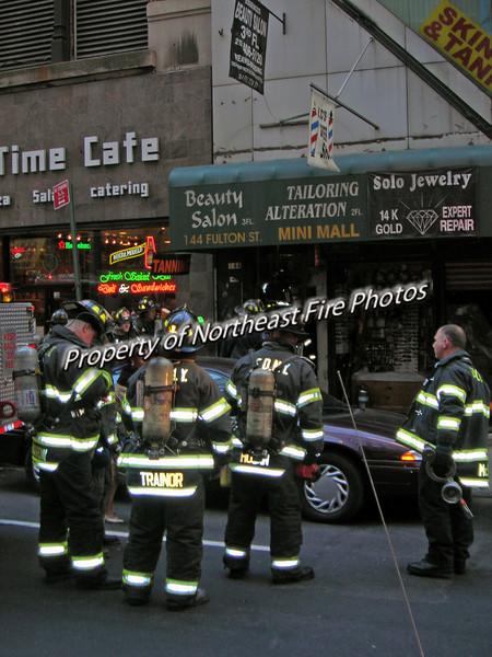 Manhattan- Fulton Street-11/20/05