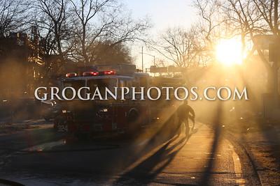 Queens Box 8388 Car Fire