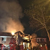 Two alarm blaze in Forest Hills, Queens - third this month!