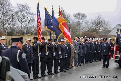 WTC Funeral For FF John Buhler Marine 6 3/29/18