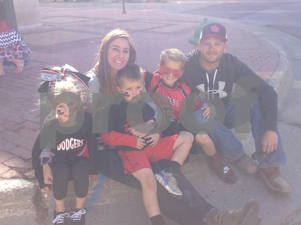 Jersey, Jana, Ryker, Carter & Steve Woodruff