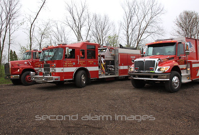 DePere Fire/Rescue- Training House Burn 05-14-2011