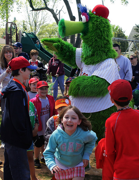 AJB and the Phillie Phanatic