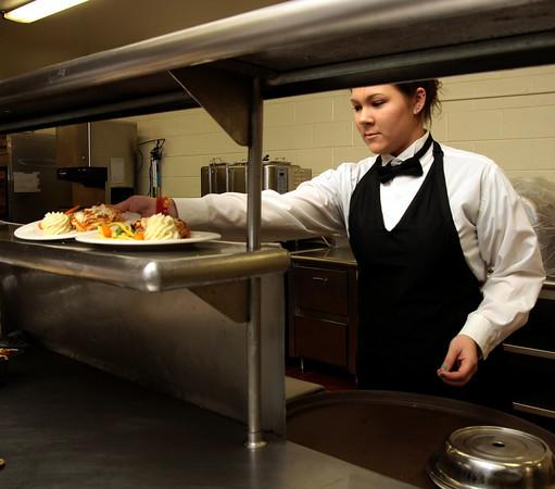 Gwynedd Estates dining room & staff