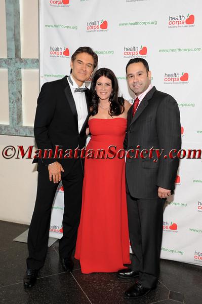 Dr  Mehmet Oz, Lisa Oz, Joel Rivera