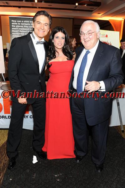 Dr. Mehmet Oz,  Lisa Oz and Jay Goldsmith