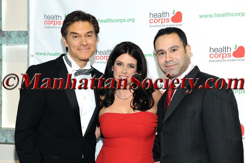Dr  Mehmet Oz, Lisa Oz , Joel Rivera