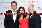 Dr  Oz, Lisa Oz, Robert Guida (HealthCorps) Advisory Board Member