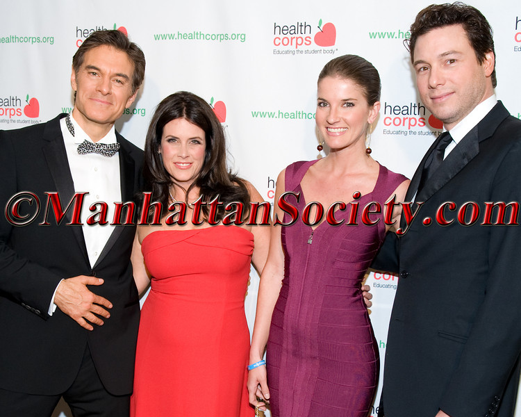 Dr Mehmet Oz, Lisa Oz, Nicole Mar, Rocco DiSpirito