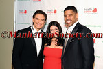 Dr Mehmet Oz, Lisa Oz, Former NBA Great and now Mayor of Sacramento, Kevin Johnson