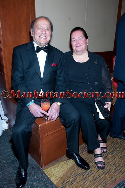 George A. Naddaff, chairman & CEO UFood Grill and wife Martha Naddaff