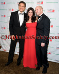 Dr  Mehmet Oz, Lisa Oz, Robert Guida (HealthCorps) Advisory Board Member