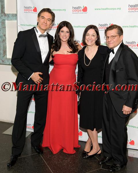 Dr. Oz, Lisa Oz,  Nancy Roizen, Dr. Michael Roizen