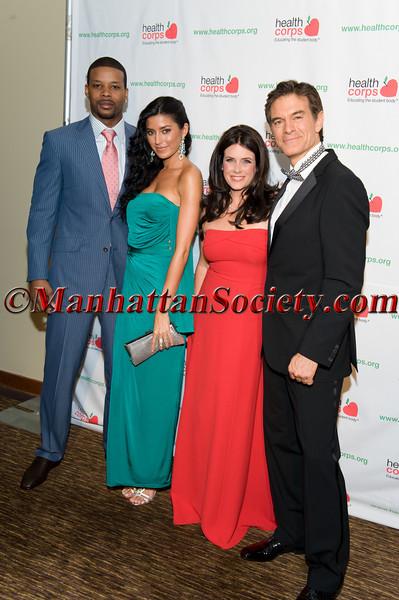 Kerry Rhodes, Nicole Williams, Lisa Oz, Dr  Mehmet Oz