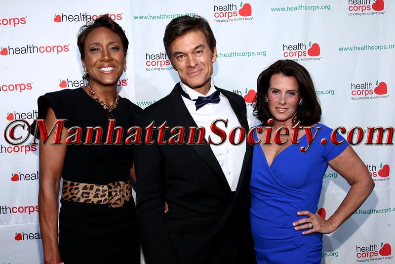 Robin Roberts, Dr. Mehmet Oz and Lisa Oz