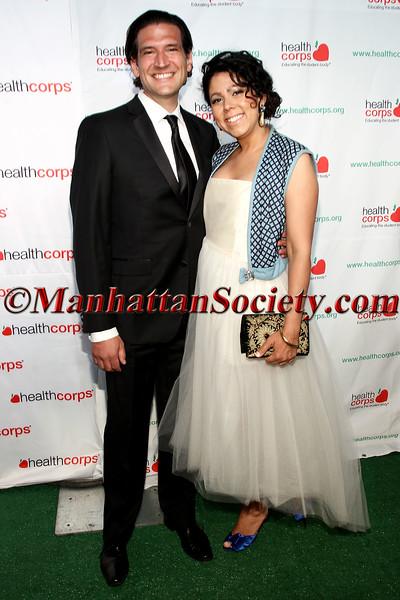 Stephen Rios and Evette Rios