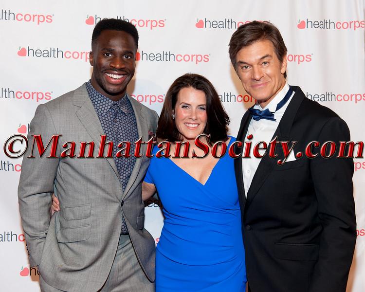 Prince Amukamara, Lisa Oz,  Dr Oz,