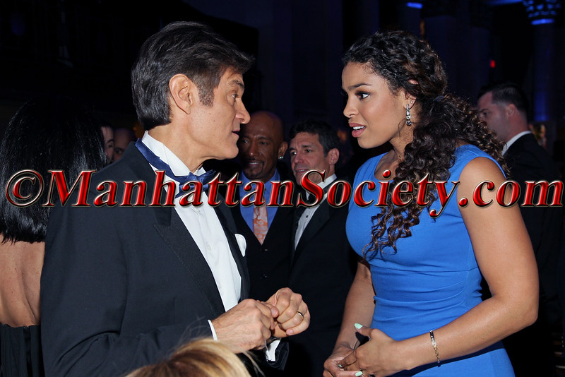 Dr. Mehmet Oz and Jordin Sparks