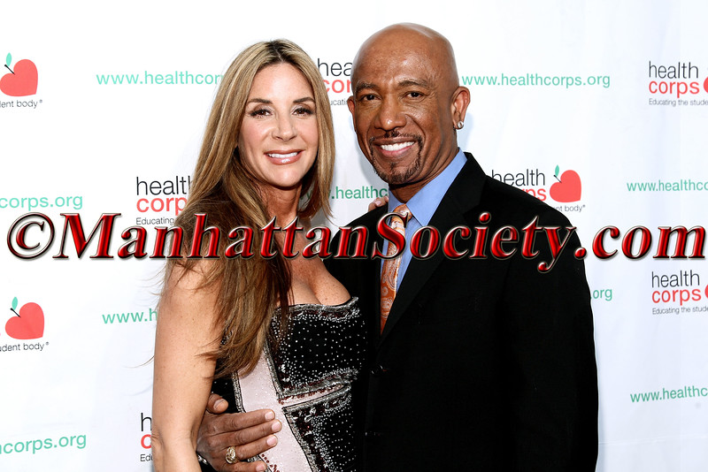 Tara Fowler and Montel Williams