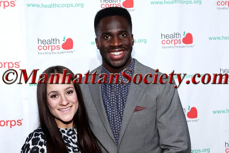 Pilar Davis and Prince Amukamara