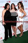 Kathy Wakile, Jacqueline Laurita and Melissa Gorga