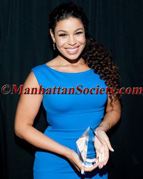 Jordin Sparks With Award