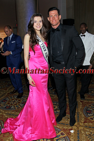 Miss Teen USA K. Lee Graham and Steve Weatherford