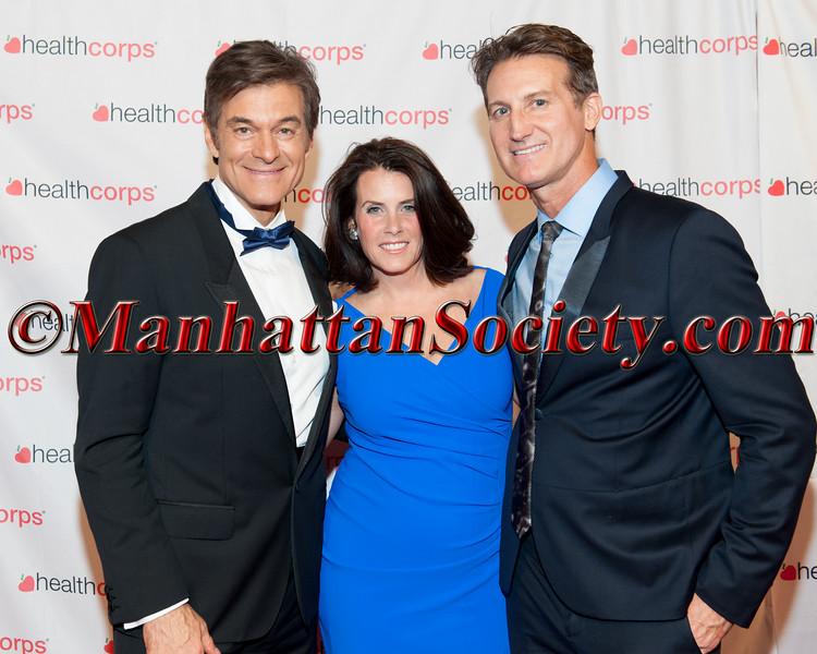 Dr Oz, Lisa Oz,  Dr  Mark Warfel