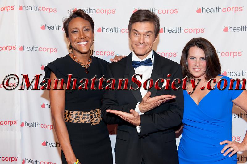 Robin Roberts,  Dr  Oz, Lisa Oz