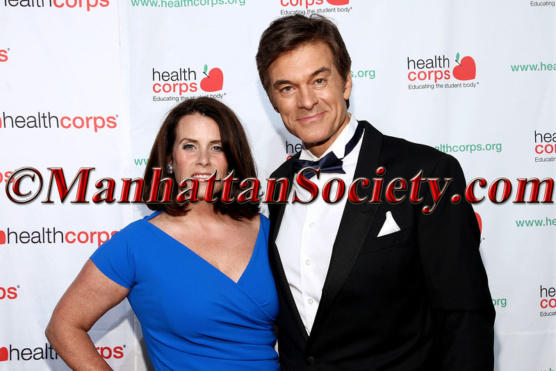 Lisa Oz and Dr. Mehmet Oz