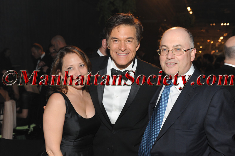 "Alexandra Cohen, Dr. Mehmet Oz, Steve Cohen attend HEALTHCORPS' Fifth Annual Gala ""Fresh From The Garden"" on Wednesday, April 13, 2011 at Intrepid Sea, Air & Space Museum, Pier 86 at 46th Street & 12th Avenue, New York, NY  PHOTO CREDIT: Copyright ©Manhattan Society.com 2011"