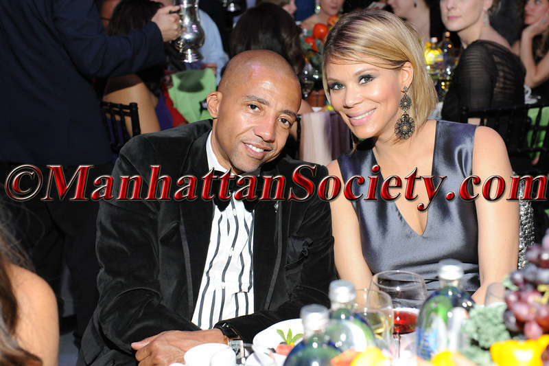 "Kevin Liles, Erika Liles attend HEALTHCORPS' Fifth Annual Gala ""Fresh From The Garden"" on Wednesday, April 13, 2011 at Intrepid Sea, Air & Space Museum, Pier 86 at 46th Street & 12th Avenue, New York, NY  PHOTO CREDIT: Copyright ©Manhattan Society.com 2011"