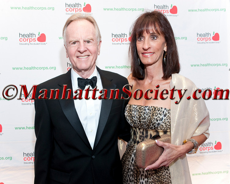 "John Scully and Diane Poli attend HEALTHCORPS' Fifth Annual Gala ""Fresh From The Garden"" on Wednesday, April 13, 2011 at Intrepid Sea, Air & Space Museum, Pier 86 at 46th Street & 12th Avenue, New York, NY  PHOTO CREDIT: Copyright ©Manhattan Society.com 2011"