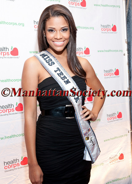 """Miss Teen USA Kamie Crawford attends HEALTHCORPS' Fifth Annual Gala """"Fresh From The Garden"""" on Wednesday, April 13, 2011 at Intrepid Sea, Air & Space Museum, Pier 86 at 46th Street & 12th Avenue, New York, NY  PHOTO CREDIT: Copyright ©Manhattan Society.com 2011"""