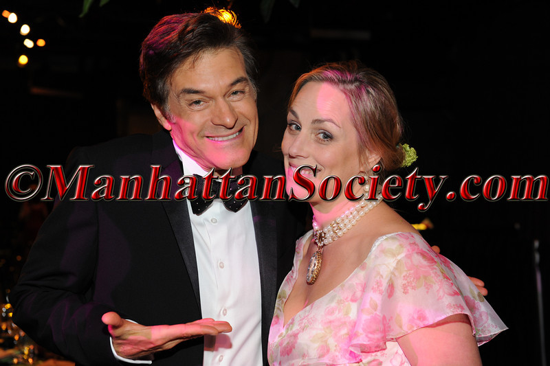 """Dr. Mehmet Oz, Michelle Bouchard attends HEALTHCORPS' Fifth Annual Gala """"Fresh From The Garden"""" on Wednesday, April 13, 2011 at Intrepid Sea, Air & Space Museum, Pier 86 at 46th Street & 12th Avenue, New York, NY  PHOTO CREDIT: Copyright ©Manhattan Society.com 2011"""