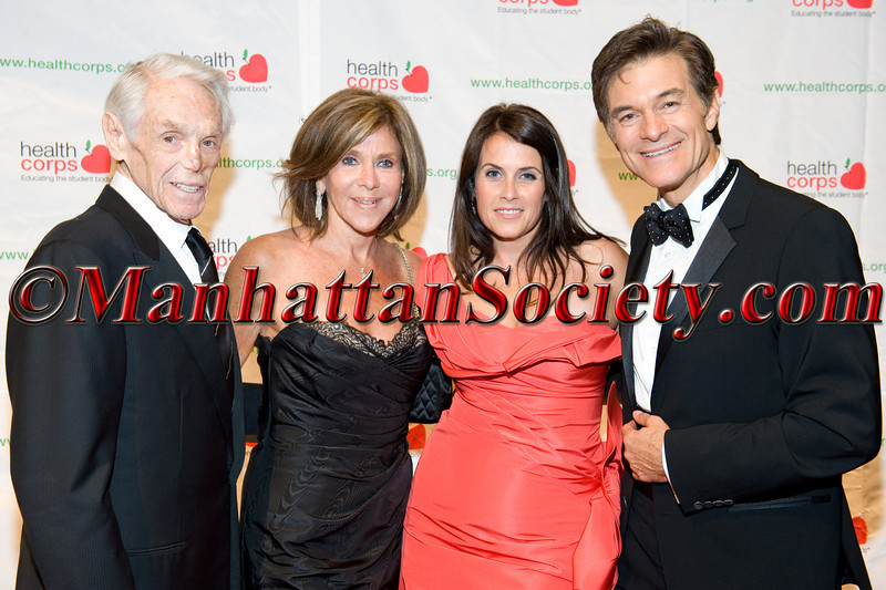 "Tibor Hollo, Sheila Hollo, Lisa Oz, Dr. Mehmet Oz attend HEALTHCORPS' Fifth Annual Gala ""Fresh From The Garden"" on Wednesday, April 13, 2011 at Intrepid Sea, Air & Space Museum, Pier 86 at 46th Street & 12th Avenue, New York, NY  PHOTO CREDIT: Copyright ©Manhattan Society.com 2011"